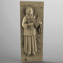 Download free STL file Religious icon cnc art 3D model • 3D print object, 3Dprintablefile