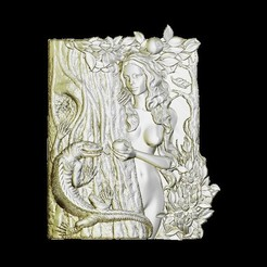 Free STL files Eve naked, 3Dprintablefile