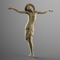 Descargar modelo 3D gratis raxpyatie_vizantia cristo cruz jesús CNC, 3Dprintablefile
