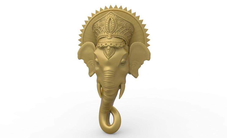 untitled.62.jpg Download free STL file Elephant religious bouddhist • 3D printer design, 3Dprintablefile