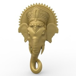 Download free 3D printing files Elephant religious bouddhist, 3Dprintablefile
