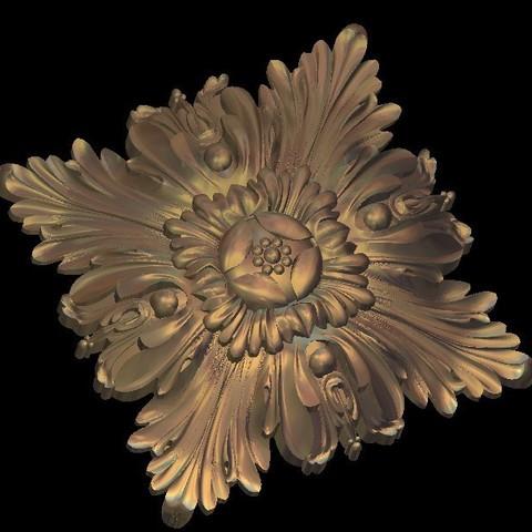 Descargar archivo 3D gratis muralla de decoración medieval renacentista, 3Dprintablefile
