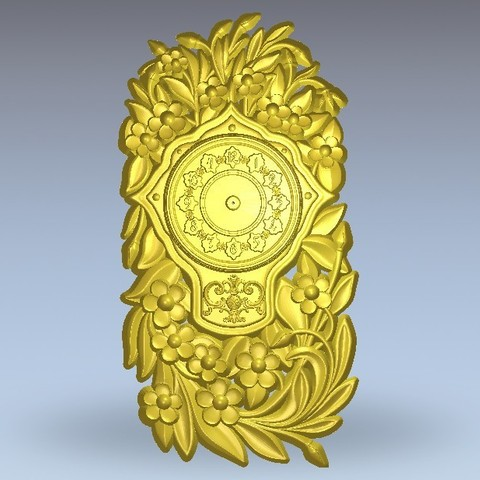 Download free 3D printer files vintage clock, 3Dprintablefile