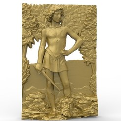 Free 3D model mythology kill, 3Dprintablefile