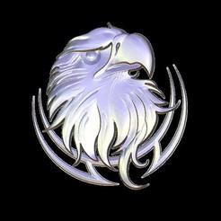 Descargar Modelos 3D para imprimir gratis Busto de águila, 3Dprintablefile