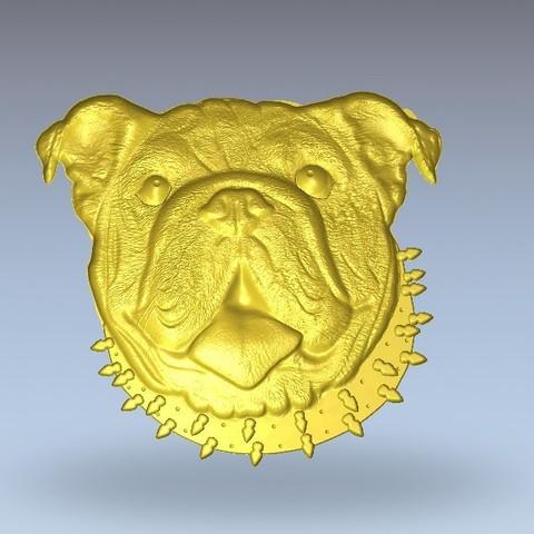 Modèle 3D gratuit Bouledogue, 3Dprintablefile