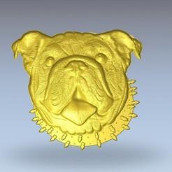 Free STL Bulldog, 3Dprintablefile