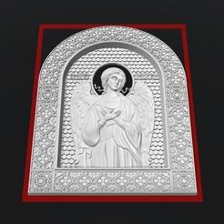 Télécharger fichier STL gratuit Angel cnc routeur art, 3Dprintablefile