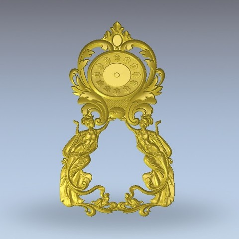Download free 3D printer files vintage clock, 3Dprintablefile