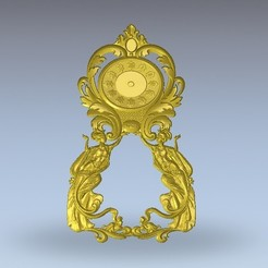 Free 3D printer model vintage clock, 3Dprintablefile