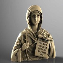 Descargar modelo 3D gratis Marco religioso cnc art router santo, 3Dprintablefile