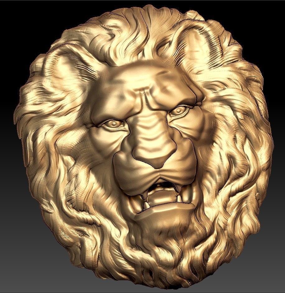 92.jpg Télécharger fichier STL gratuit Buste de lion art cnc • Plan pour imprimante 3D, 3Dprintablefile