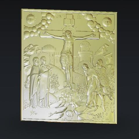 Télécharger fichier 3D gratuit le christ sur la croix, 3Dprintablefile