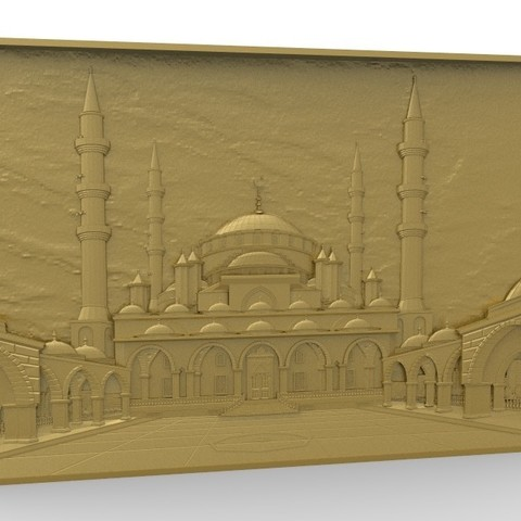 Télécharger plan imprimante 3D gatuit Taj mahal art architecture, 3Dprintablefile