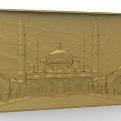 Download free 3D printer model Taj mahal art architecture, 3Dprintablefile