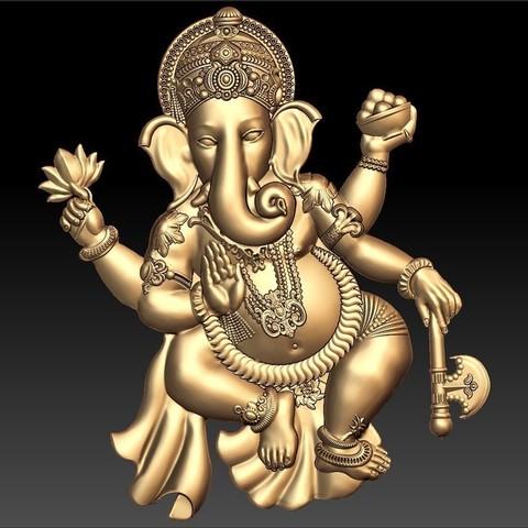 Télécharger STL gratuit dieu indien crishna, 3Dprintablefile