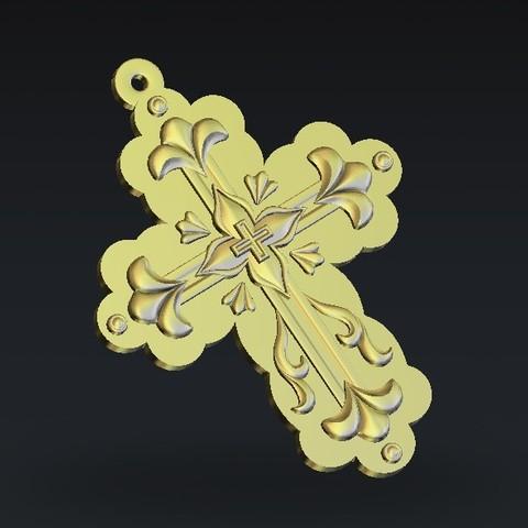 Télécharger objet 3D gratuit Croix, 3Dprintablefile