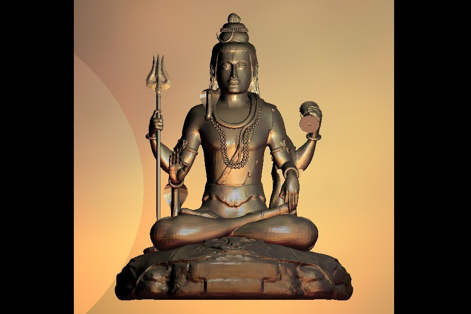 65.jpg Download free STL file wonderful boudha sculpture • 3D printing template, 3Dprintablefile
