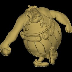 Free STL files Obelix, 3Dprintablefile