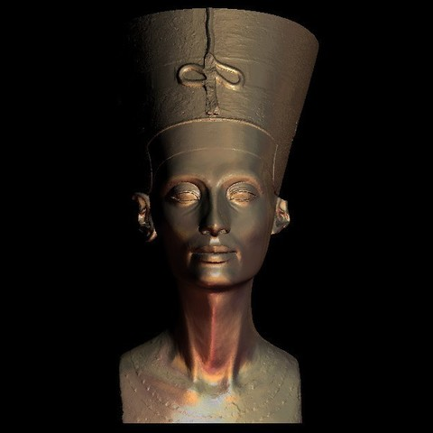 Download free 3D printer model nephertiti egyptian art, 3Dprintablefile