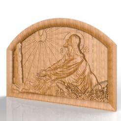 Télécharger STL gratuit Jésus Christ, 3Dprintablefile