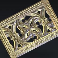 Free 3D printer files decoration renaissance, 3Dprintablefile