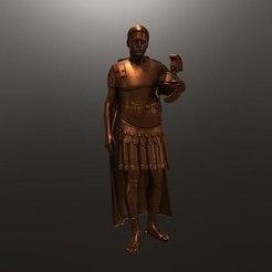 Download free 3D model Legioner roman soldier , 3Dprintablefile
