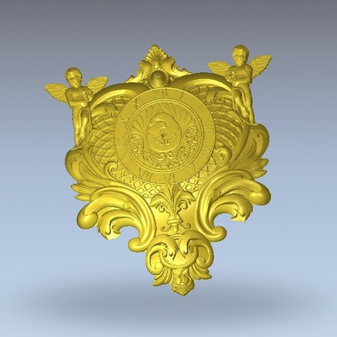 Download free 3D printer templates renaissance medieval decoration wall, 3Dprintablefile