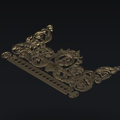 Download free 3D print files decoration renaissance, 3Dprintablefile