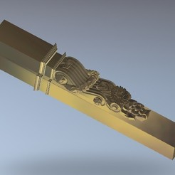 Descargar archivos 3D gratis arte decoración renacentista, 3Dprintablefile