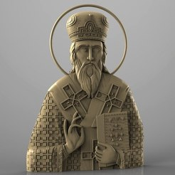 Download free STL Religious icon cnc art 3D model, 3Dprintablefile