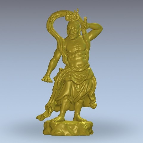 Download free 3D printer templates Chinese warrior, 3Dprintablefile