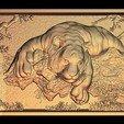 Télécharger fichier impression 3D gratuit grand tigre, 3Dprintablefile
