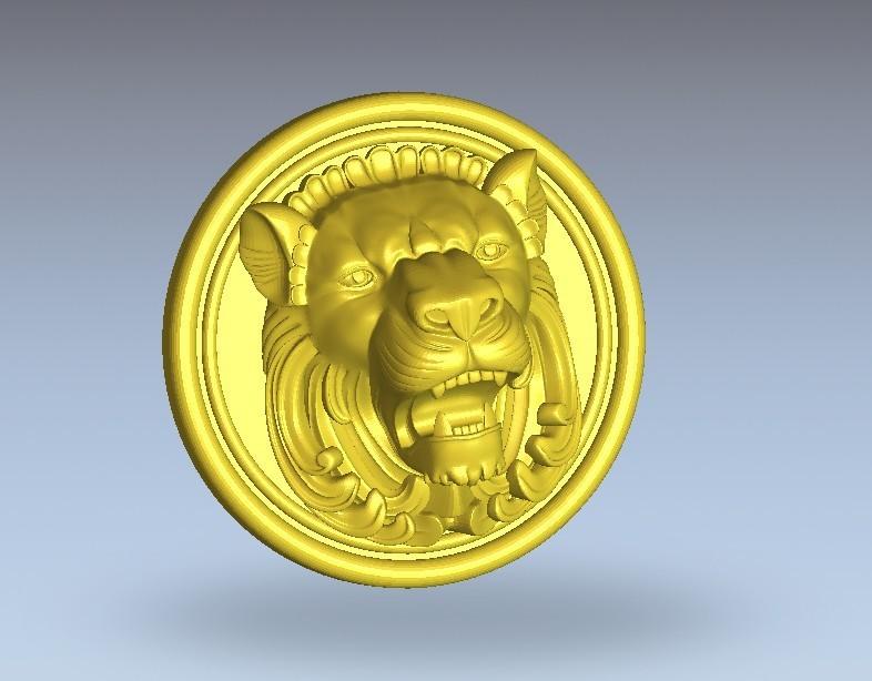 3.jpg Télécharger fichier STL gratuit Tête de lion • Design pour imprimante 3D, 3Dprintablefile
