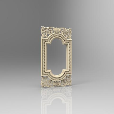 Descargar STL gratis Muy bonito marco medieval para pieza de arte, 3Dprintablefile
