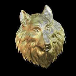 Télécharger objet 3D gratuit buste tête de chien, 3Dprintablefile