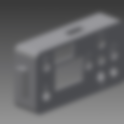 caja_pantalla_tapa.stl Download free STL file Case from screen for 3018 CNC • Object to 3D print, otter3d