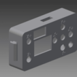carcasa_delantera_pantalla.png Download free STL file Case from screen for 3018 CNC • Object to 3D print, otter3d