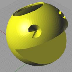 Download 3D printer files Pot of pacman, otter3d