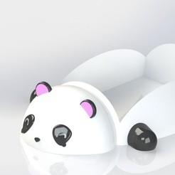 Descargar modelo 3D gratis Jabonera Panda, bichon205
