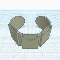 3D printing model SD Card Bracelet, KLNK