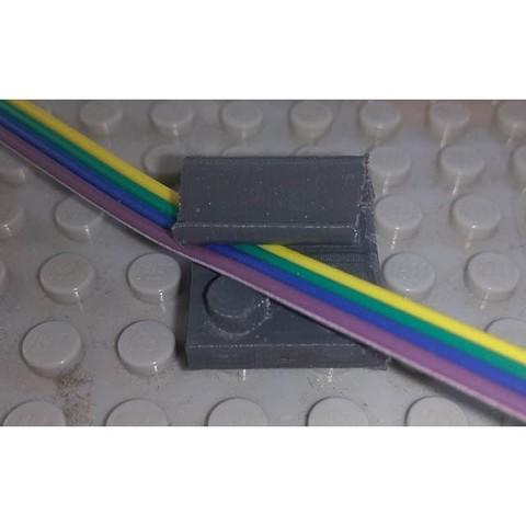 Fichier STL gratuit Guide fils compatible Lego réseau trains, Oliversan