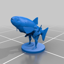 Download free 3D printing models Trout man, kotzas