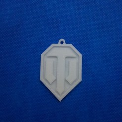 3D printer files Keychain World of Tanks WOT, 3d4you