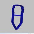 Télécharger fichier impression 3D crayon à l'emporte-pièce crayon à papier, 3d4you