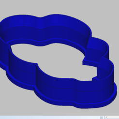 Impresiones 3D nube cortadora de galletas, 3d4you