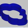 Télécharger modèle 3D nuage à l'emporte-pièce, 3d4you