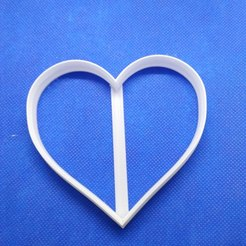 Download STL file COOKIE CUTTER HEART, 3d4you