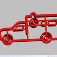 Télécharger modèle 3D ambulance à l'emporte-pièce, 3d4you