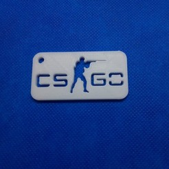STL files CSGO keychain, 3d4you